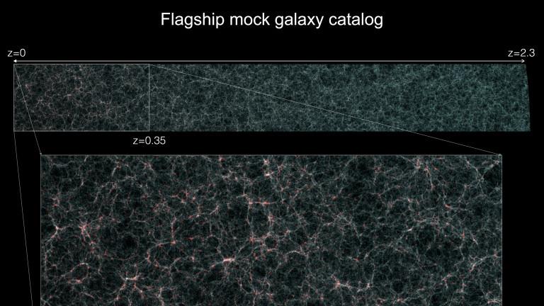 Научниците изработија виртуелна симулација на вселената