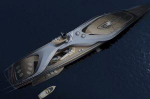 """Новата јахта на Џеф Безос е толку голема што ѝ треба и """"помошна јахта"""""""
