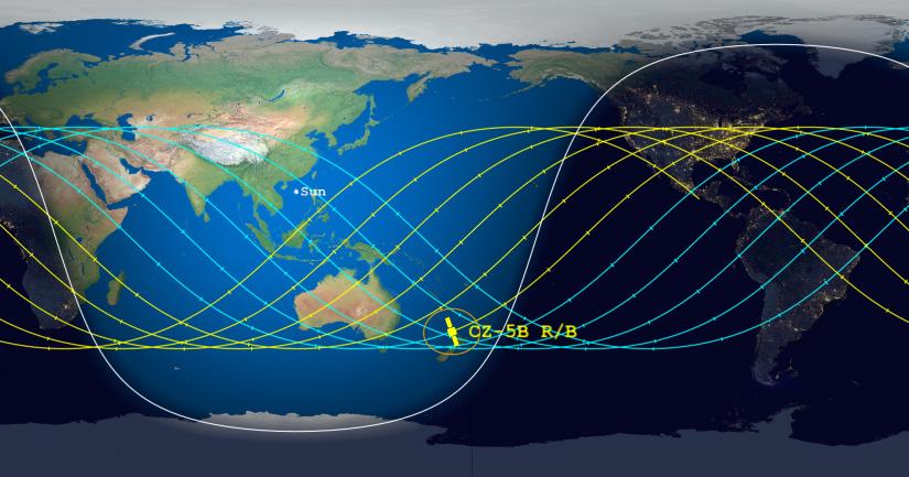 Остатоците од кинеската ракета вечерва или утре ќе паднат на земјата, уште не се знае точно каде