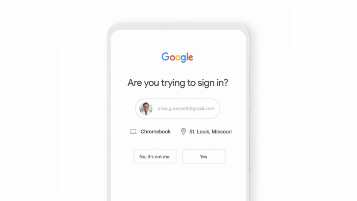 Google ќе овозможи стандардна двофакторска потврда на идентитетот за сите корисници