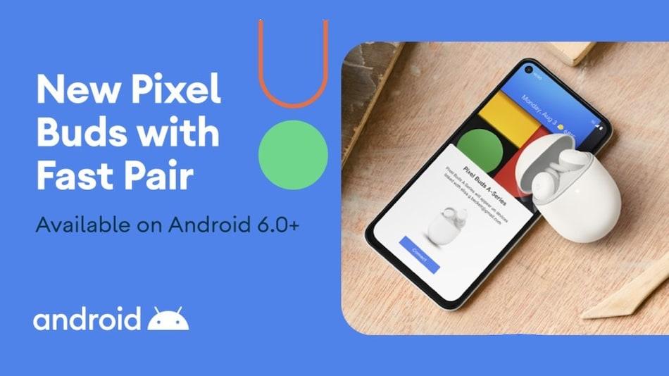 Google Pixel Buds A слушалките се појавија во твит на Android профилот