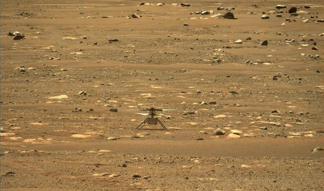 NASA објави аудио снимка од летот на мини хеликоптерот на Марс (ВИДЕО)