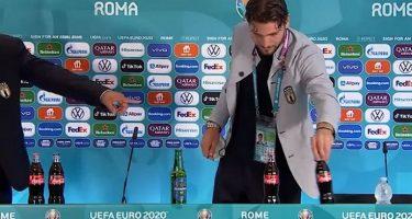 """(Видео) По Роналдо и Локатели ги тргна шишињата на """"Кока-кола"""""""