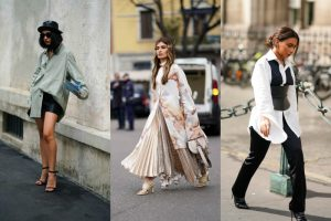 Уличен стил: како да носите XXL-кошула ова лето