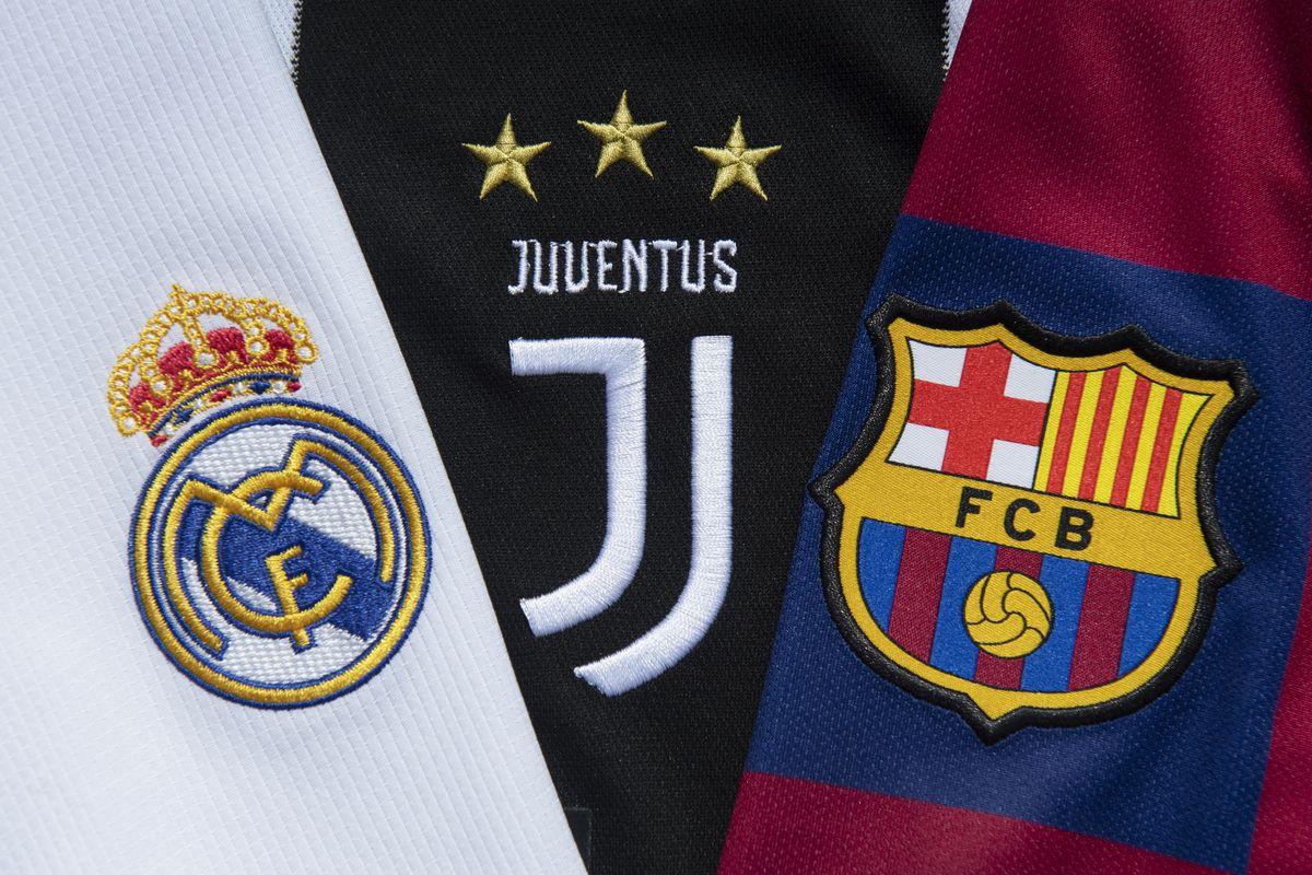 Јуве, Барса и Реал најавија продолжување на проектот на Суперлигата