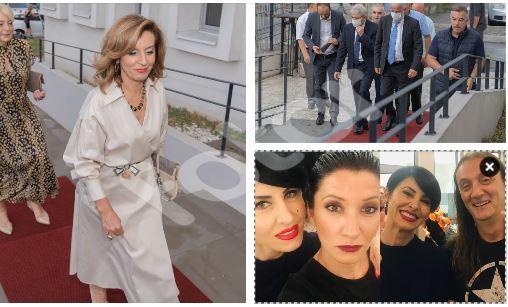 (Галерија) Али Ахмети, Елизабета Канчевска, Фатиме Фетаи и многу јавни личности на отварањето на Албанскиот театар