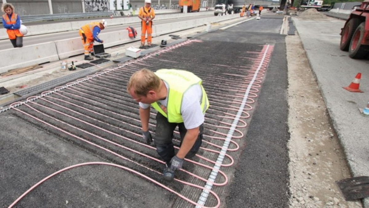 """Германците инсталираат """"клима-уреди"""" во патиштата"""