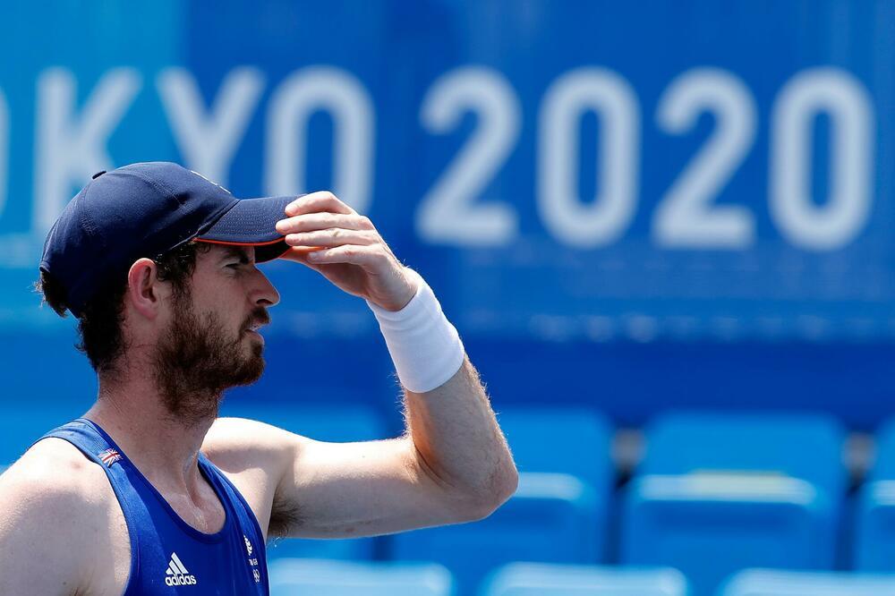 Енди Мареј: Целта е да освојам медал во Токио, идеално е ако е златен!