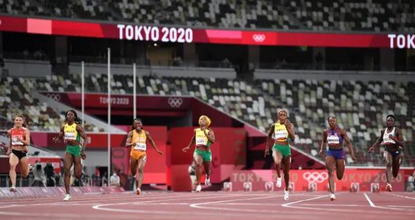 Илејн Томпсон го одбрани златото на 100 метри