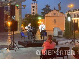 """Како за прв настап на Скопско лето, супер си поминавме: Дуото """"Тренев и Вајс"""" по настапот во Скопје"""
