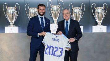 Начо го продолжи договорот со Реал
