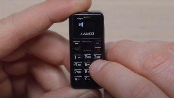 Најмалиот телефон на светот е со големина на палец (ВИДЕО)