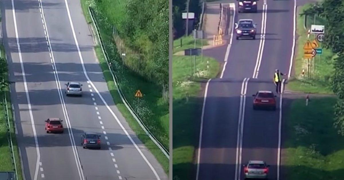Нова закана за брзите возачи: Опасноста демне од воздух (ВИДЕО)
