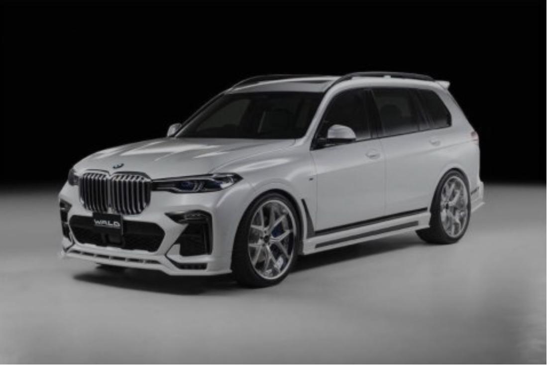 Нова изменета надворешност на BMW X7