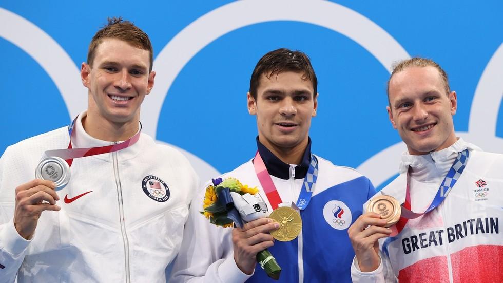 Руските пливачки злата предизвикува меѓународен инцидент