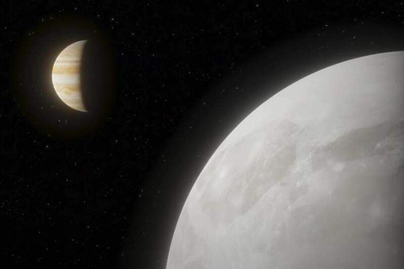 Телескопот Hubble пронајде доказ за испарување на вода на најголемата месечина на Јупитер (ВИДЕО)