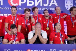 Српските ватерполисти го расплакаа селекторот Савиќ