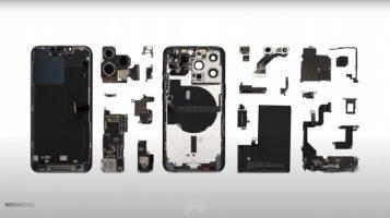 Расклопувањето на iPhone 13 Pro открива поголема батерија и Qualcomm X60 5G модем (ВИДЕО)