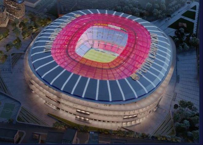 """Барселона ќе потроши 900.000.000 евра за реконструкција на """"Ноу Камп"""""""