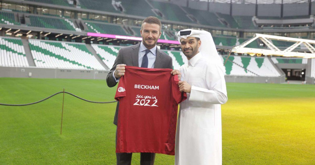 Дејвид Бекам за 200 милиони евра ќе биде заштитно лице на Мундијалот во Катар