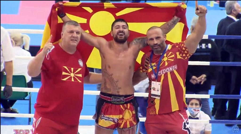 Димитар Ѓоргиев стана светски шампион во кик-бокс