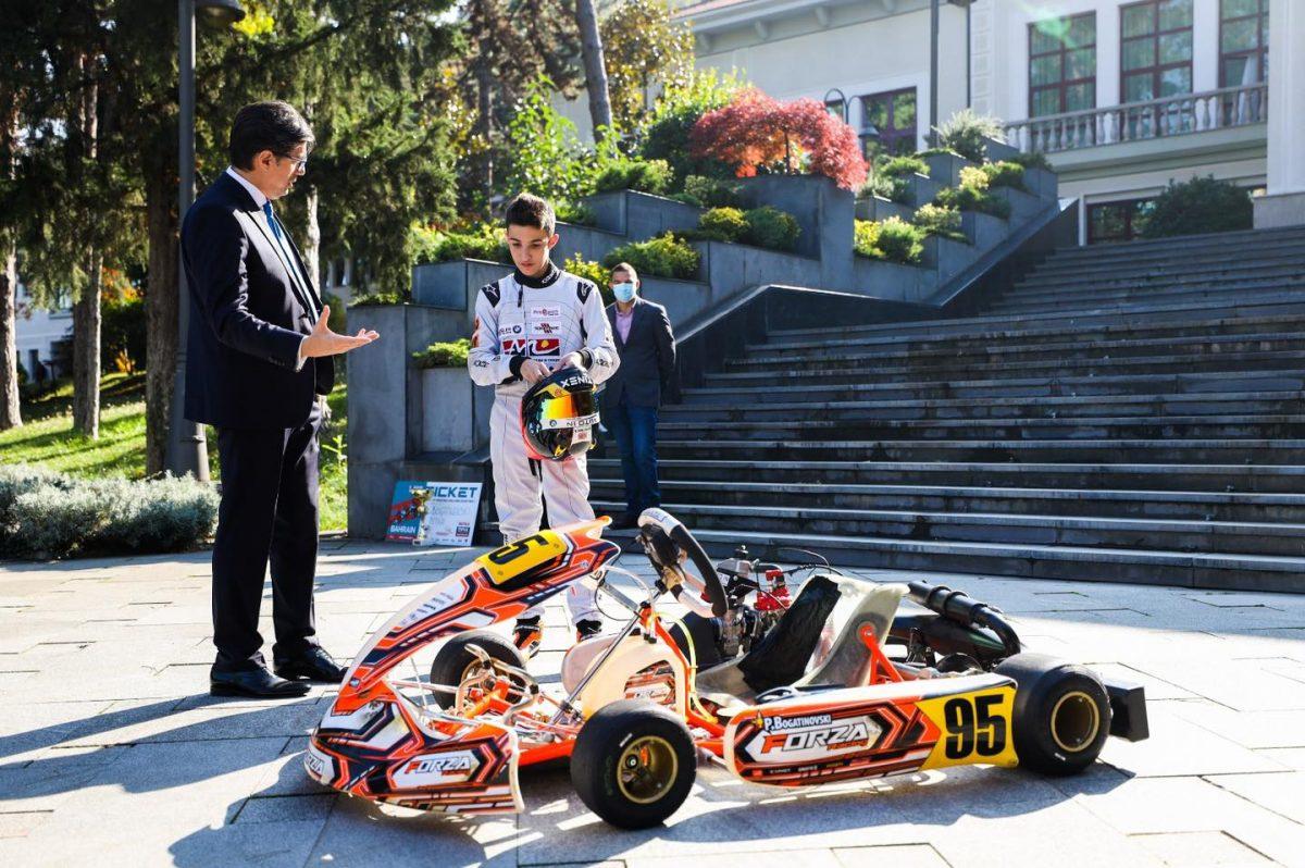 Петар Богатиновски e првиот Македонец кој ќе вози на Светското првенство во картинг