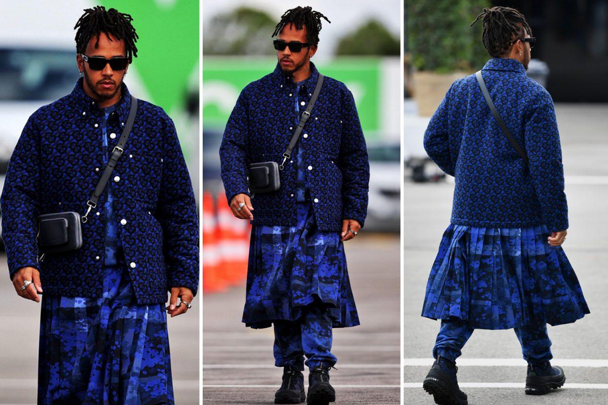 Хамилтон за својот моден избор: Секој треба да биде тоа што сака